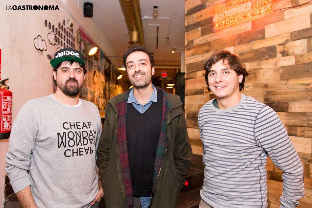 Agui, Tato y Beto, artífices de Bestia (izq. a drcha.) ©Manuela Henao // www.manuelahenaocomercial.wordpress.com