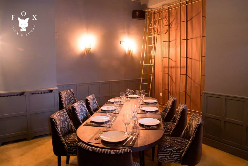 Reservado VIP. Restaurante FOX