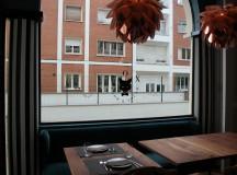 Terraza colonial del restaurante FOX