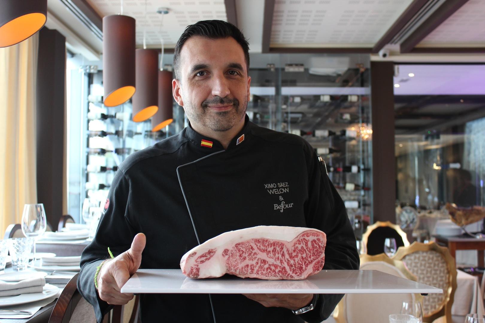 Ximo Sáez, chef ejecutivo de Welow & Befour Club