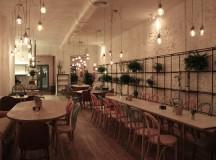 El comedor de El Columpio tiene capacidad para 130 personas