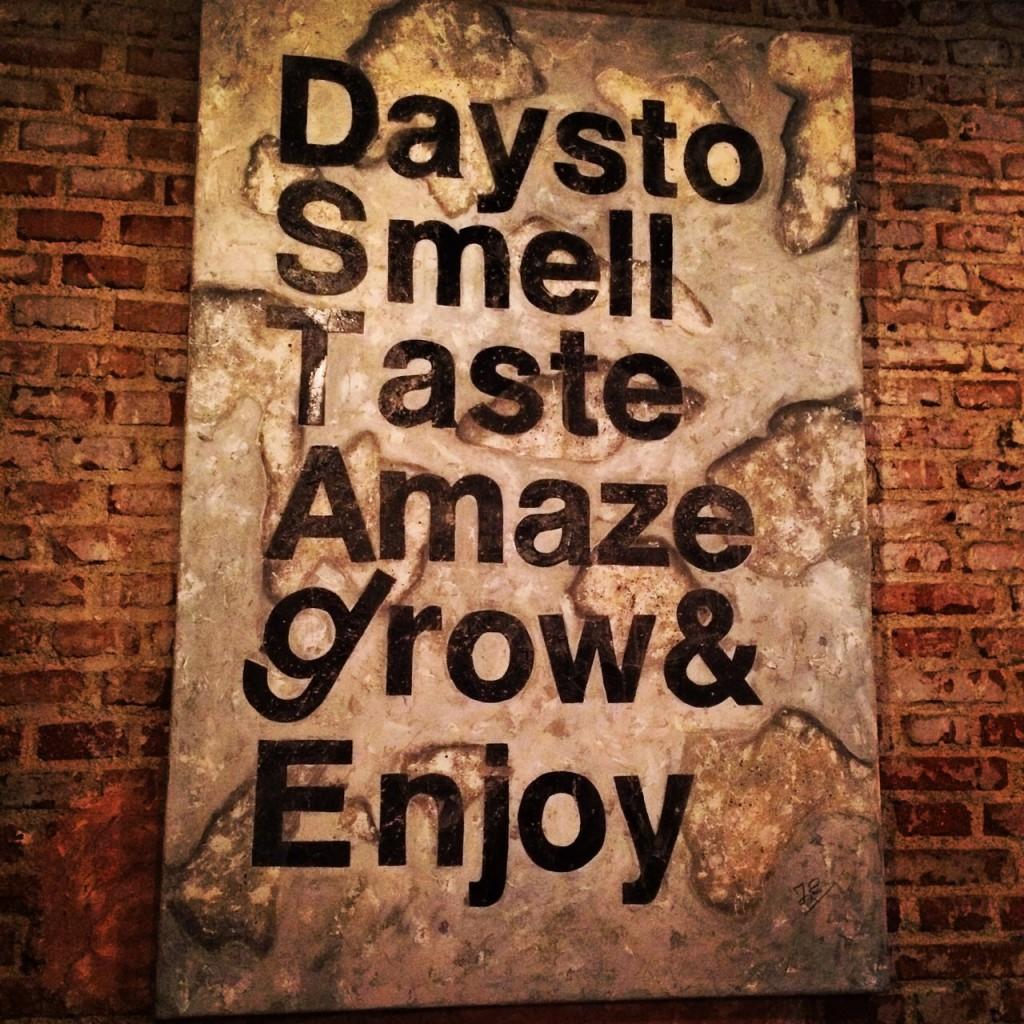 Days to Smell Taste Amaze grow & Enjoy. DESTAgE