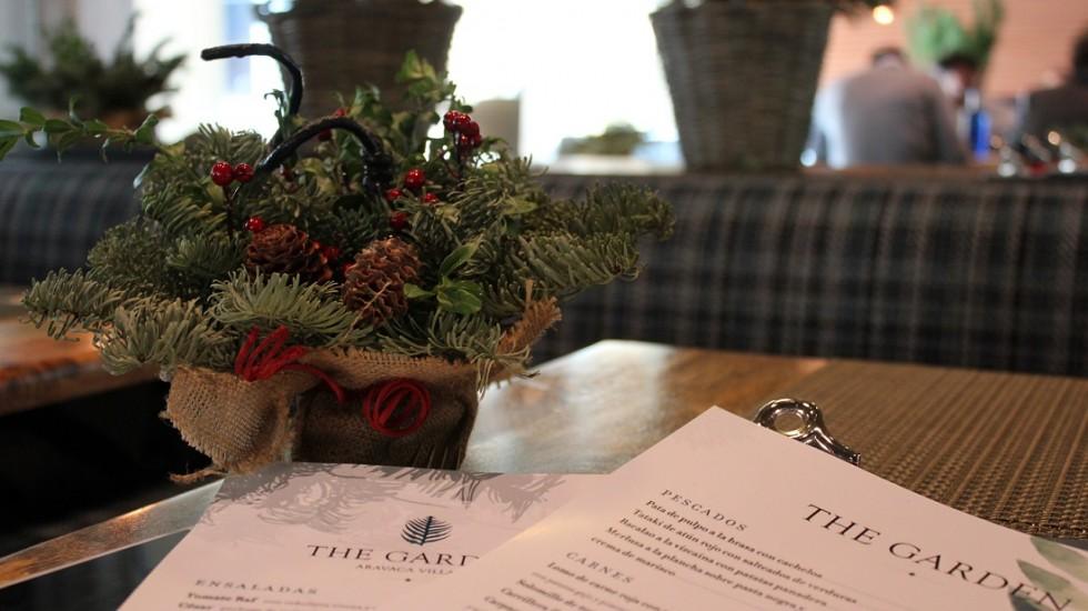 Carta de The Garden - Aravaca Village Hotel & Market ©LAGASTRONOMA