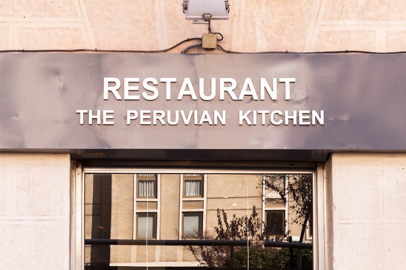 Fachada de The Peruvian Kitchen