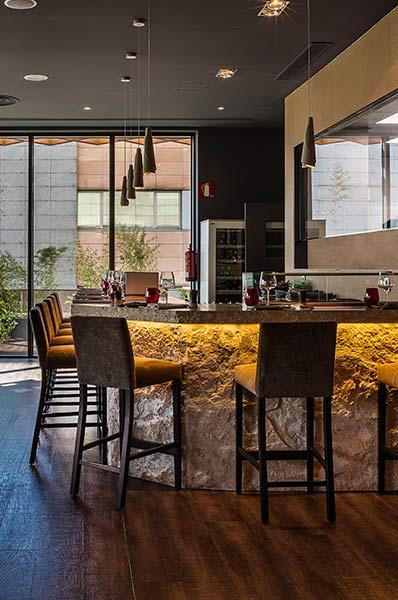El restaurante Shikku, en el complejo Aravaca Village, también dispone de sushi bar