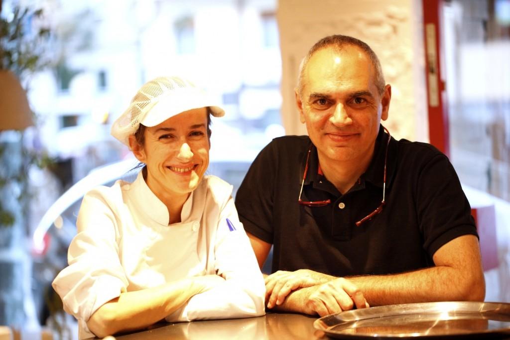 Carmen y Santiago decidieron rehacer sus vidas y montar su nuevo proyecto, Taberna Pedraza. LAGASTRONOMA©