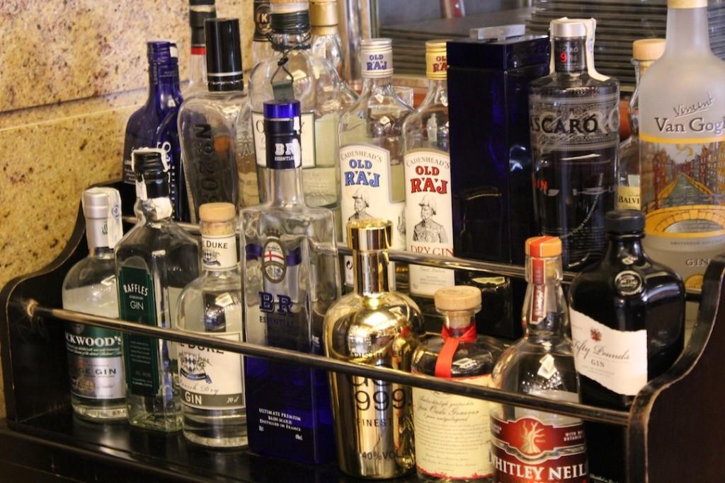 Combinados de Piñera, con los que se maridan algunos platos durante sus noches temáticas ©LAGASTRONOMA