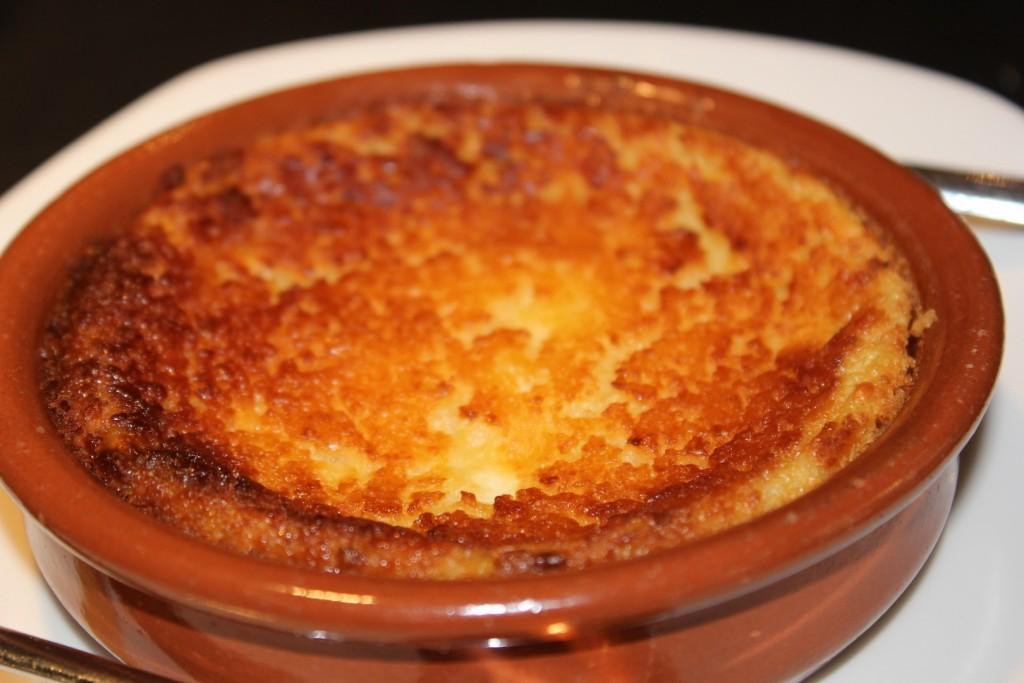 Quesada hecha con la receta original de un pastelero asturiano. Taberna Pedraza. LAGASTRONOMA©