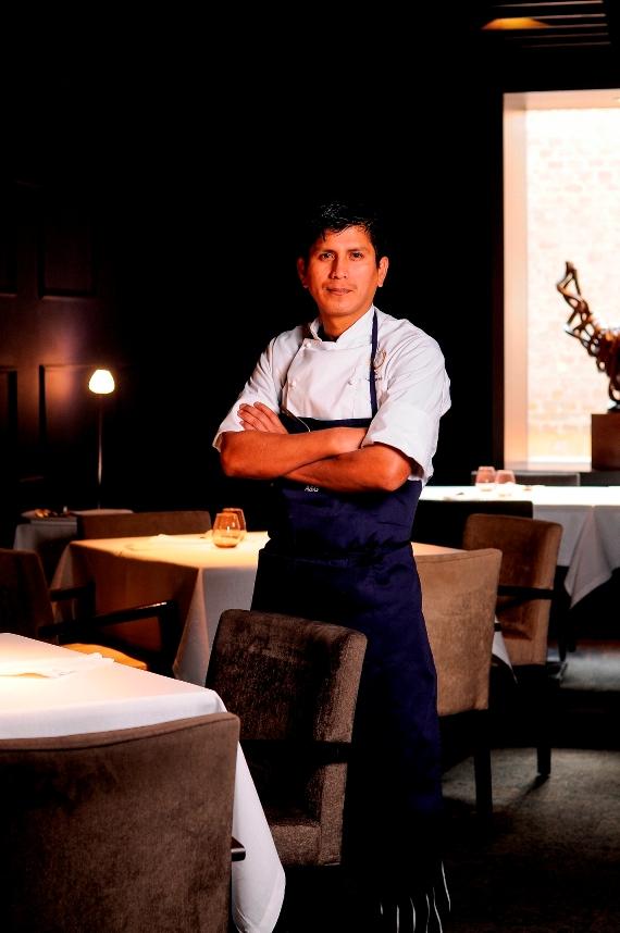 Percy Álvaro, nuevo chef de A&G Madrid