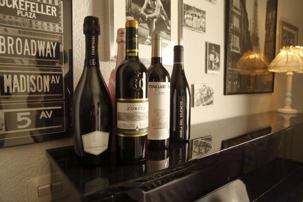 Deliciosos vinos y champagne del club del Gourmet