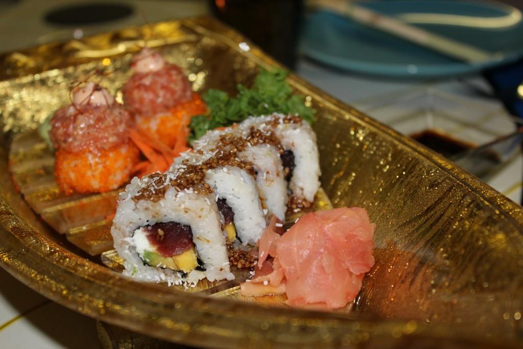 El sushi de Zoé Inusual Club se prepara al momento