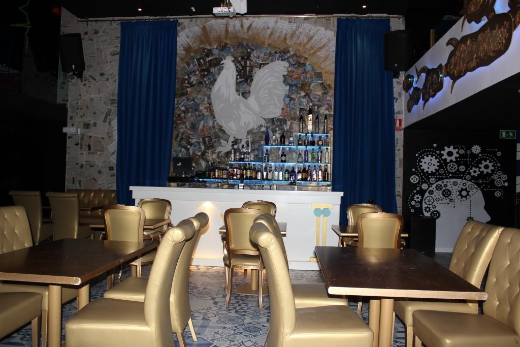 Interior de Zoé Inusual Club