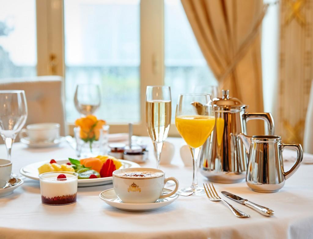 Si algo caracteriza a la propuesta gastronómica del hotel María Cristina es su espectacular desayuno