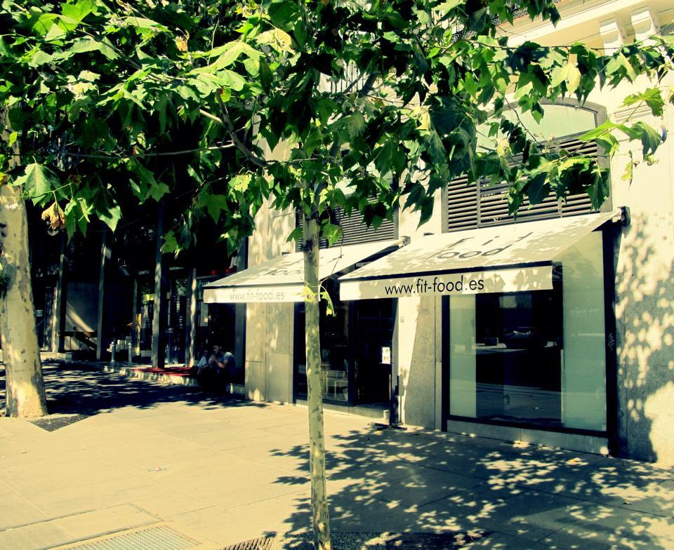 Tienda Fit Food de Serrano. Ahora, nuevo local en Chueca
