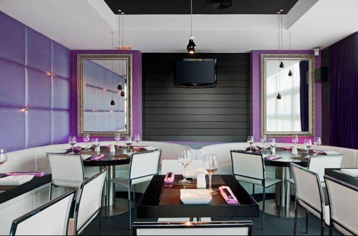 La planta superior de Sky Sushi Pozuelo acoge el comedor