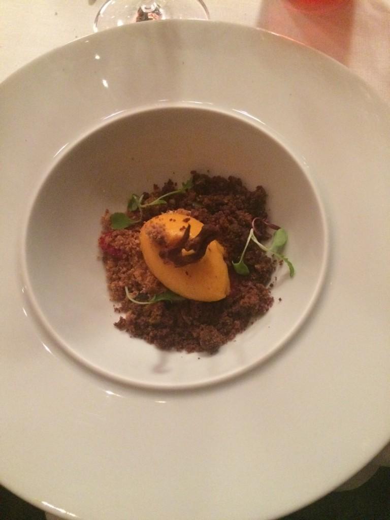 Tierras de viña. Restaurante Gastronómico Marqués de Riscal. ©LAGASTRÓNOMA