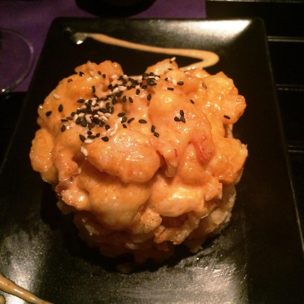 Deliciosa tempura Eby Tiger de Skysushi