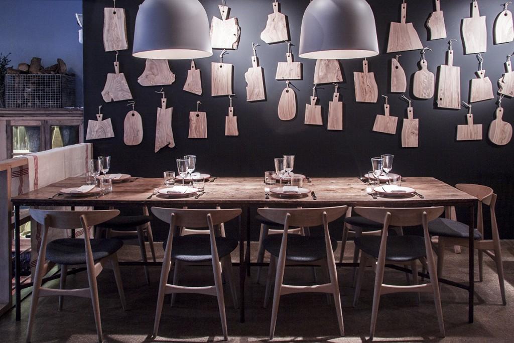Aire, especializado en aves, Mar en pescados y Tierra en verduras La trilogía de restaurantes monotemáticos que llega a Madrid