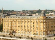El hotel María Cristina, seña de la ciudad de San Sebastián
