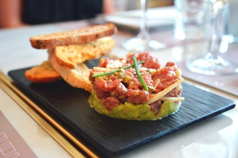 Tartar de atún. Wanda Café
