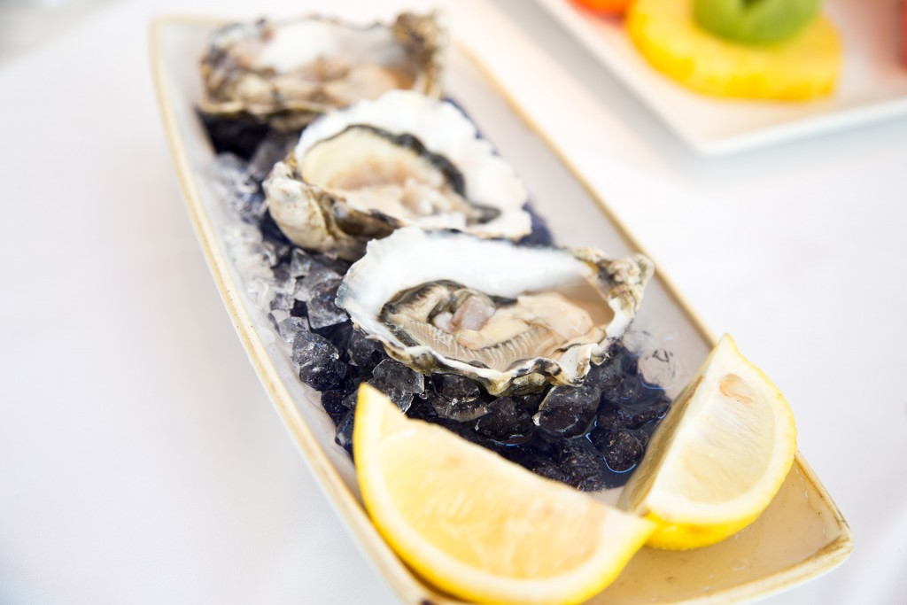 En los Brunch Weekends se podrá degustar ostras o carpaccio ©LAGASTRONOMA // Manuela Henao: www.manuelahenao.com