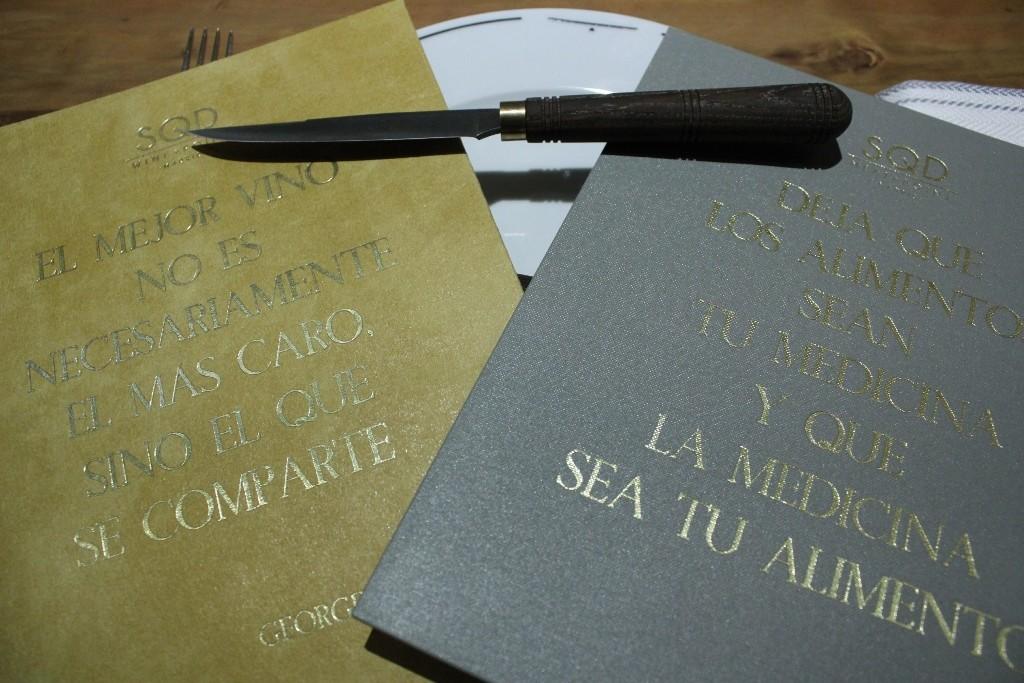El cuchillo carnicero de SQD MEAT POINT es una edición especial de Michel Bra ©LAGASTRONOMA