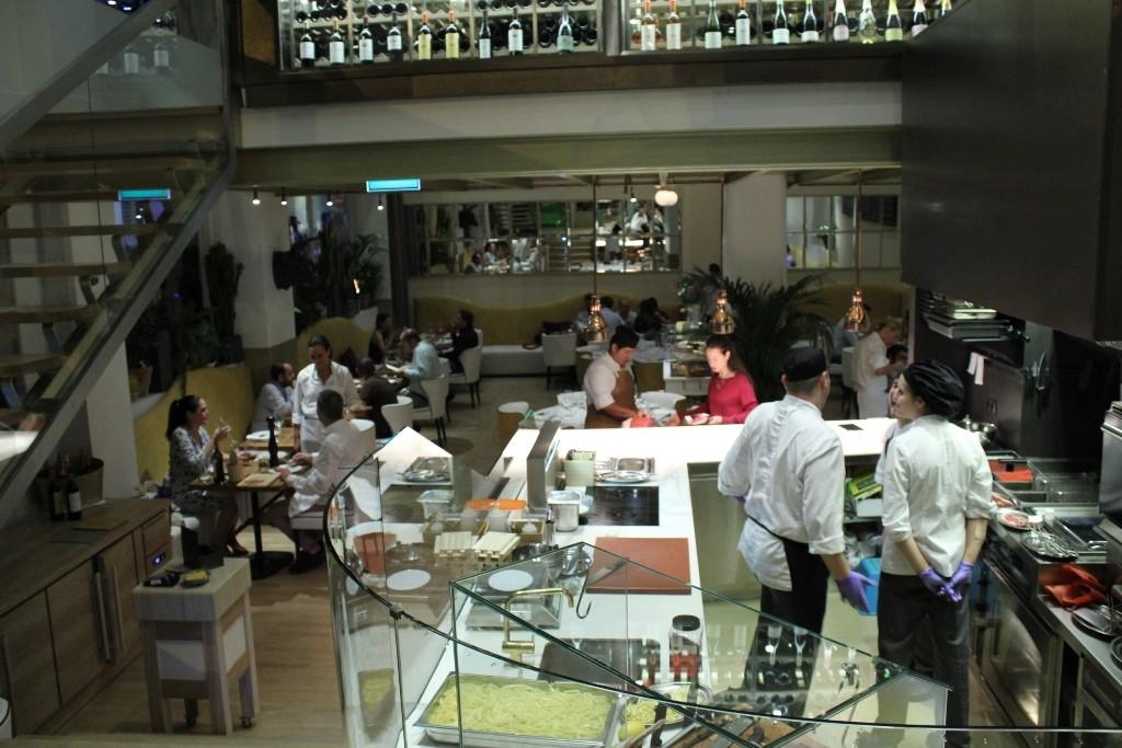 Entrada de SQD MEAT POINT, el nuevo restaurante - carnicería gourmet de Madrid ©LAGASTRONOMA