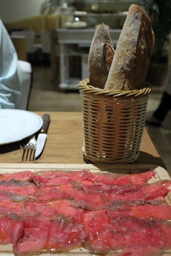 Salate, uno de los entrantes de SQD MEAT POINT ©LAGASTRONOMA
