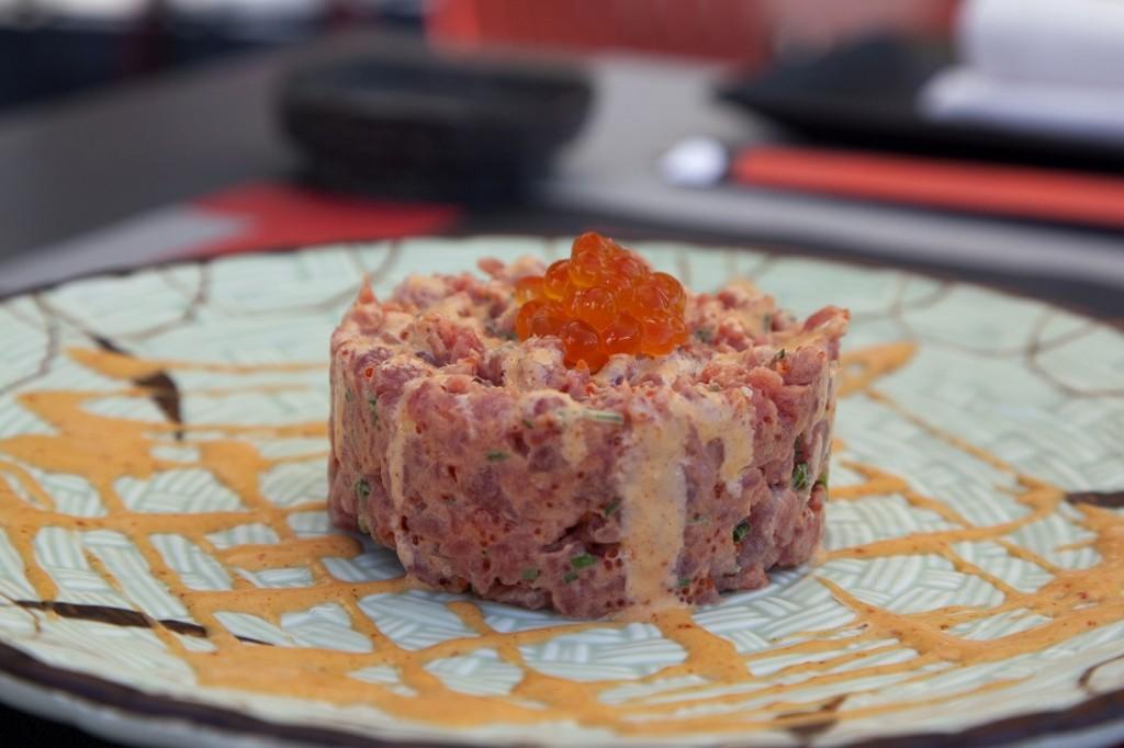 El tartar de atún de Inari es digo de los más expertos paladares en tartar