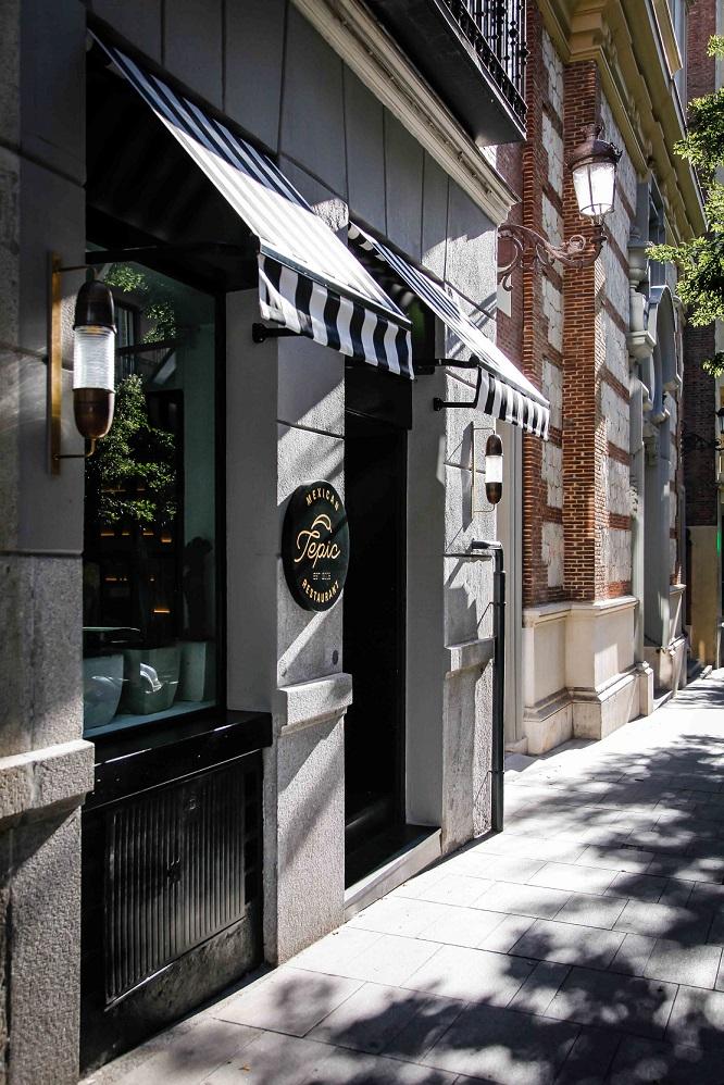 Fachada del nuevo restaurante Tepic, en el Barrio de Salamanca