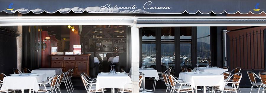 El Restaurante Carmen, uno de mis preferidos de Sansenxo, con sus platos elaborados con mucho amor