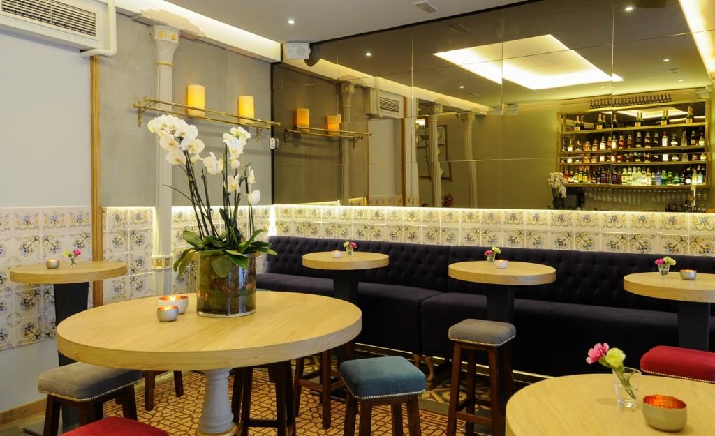 El restaurante Wilbran combina en su decoración lo clásico y lo moderno