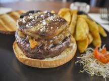 La hambruguesa Billonaire de Pecado Carnal, sin duda, una hamburguesa de autor elaborada con kobe