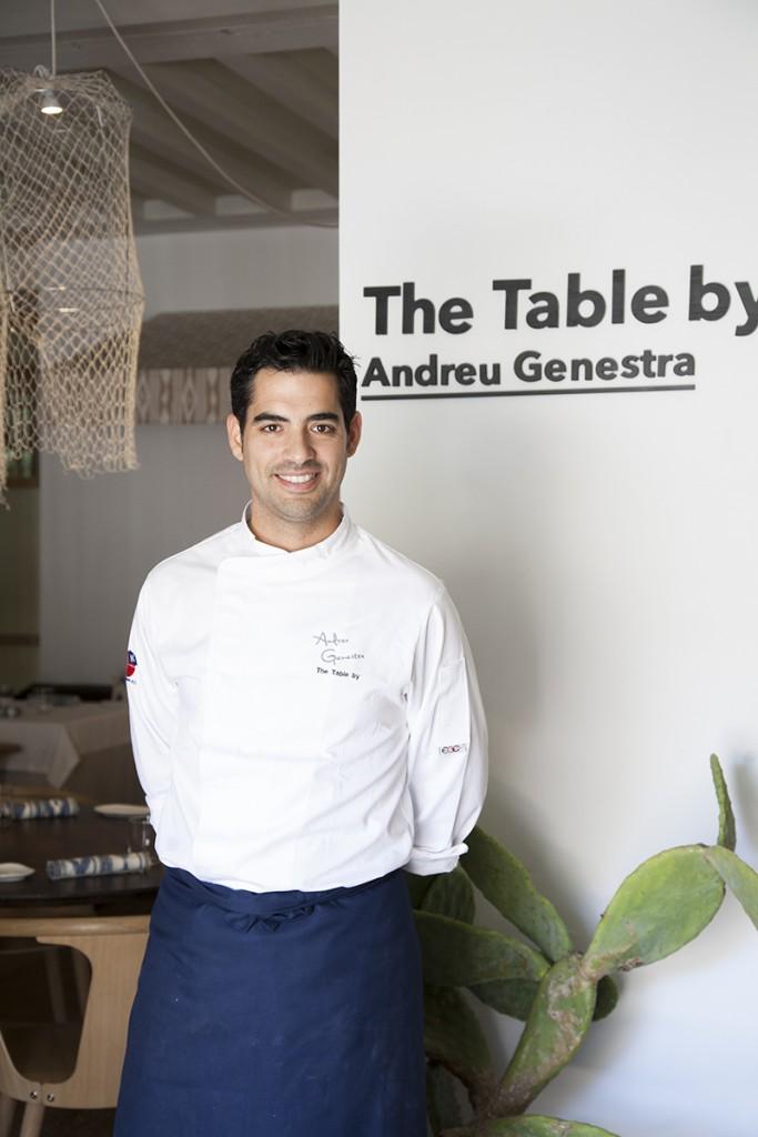 Andreu Genestra nos trae a Madrid el sabor de Mallorca