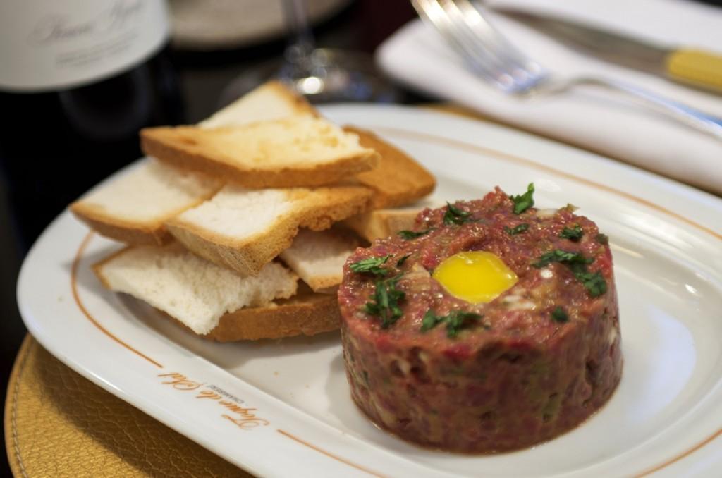 Steak Tartar de Toque de Sal