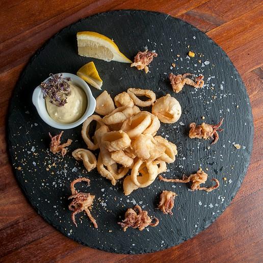 Calamares fritos de El Gordo de Velázquez