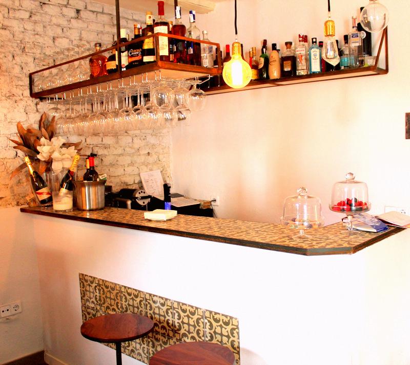 Restaurante El Sueño de Alicia. Detalle de la barra ©LAGASTRONOMA