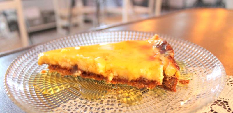 Tarta de galleta y limón del restaurante El Sueño de Alicia ©LAGASTRONOMA