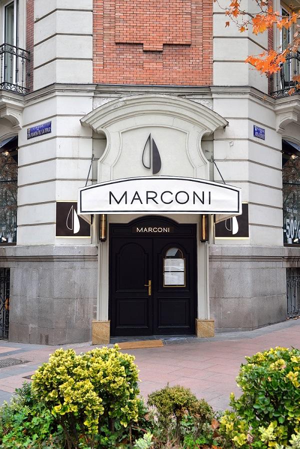 Fachada de Marconi