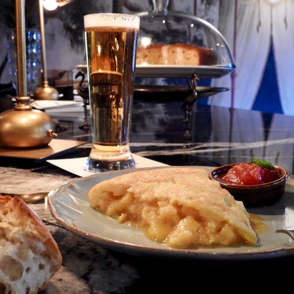 "Pincho de tortilla de Gonzalín, bar ""a secas"""