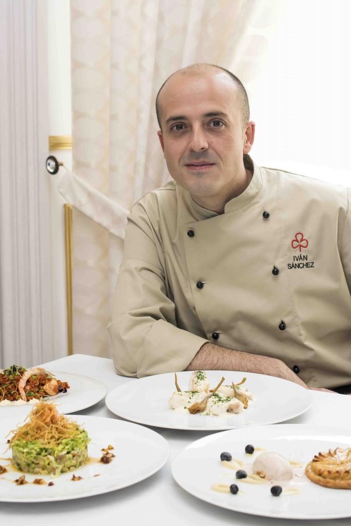 Iván Sánchez, el joven chef del Círculo Mercantil