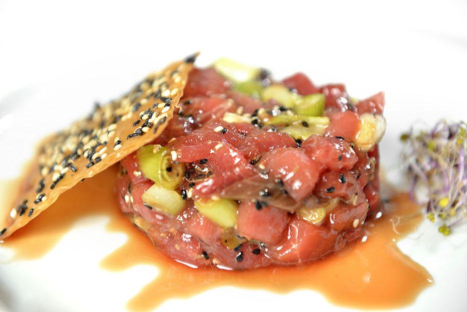 Tarta de atún rojo de Ondarreta La Moraleja