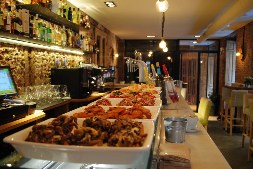 Barra del Restaurante Tomé & Lucas