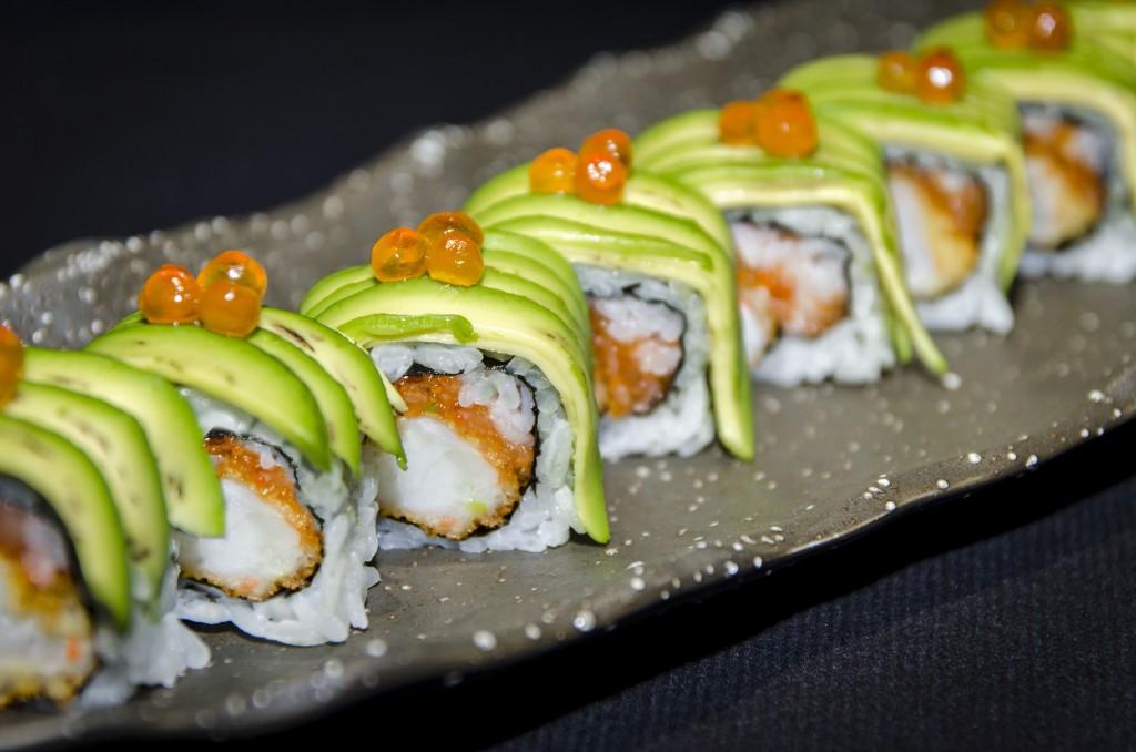 Uramaki Ebi. Restaurante Enso Sushi