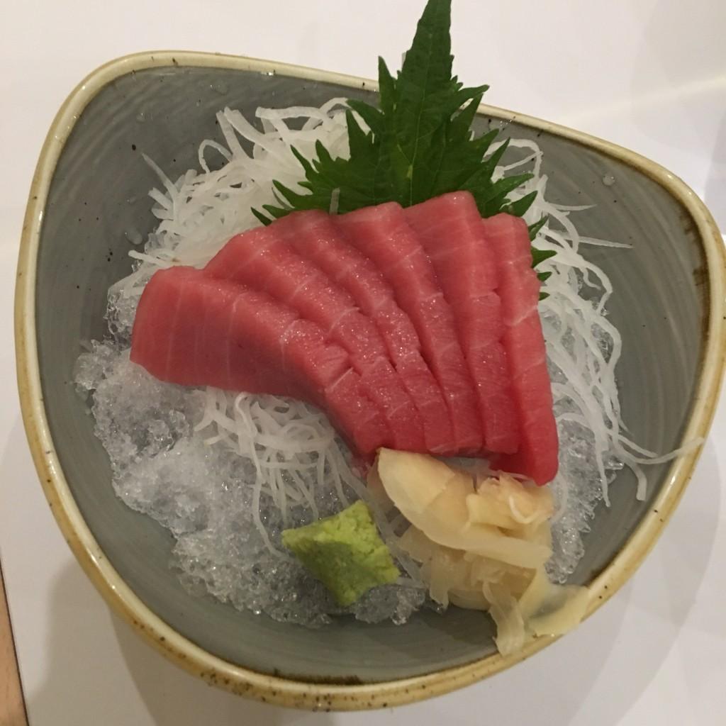 Sashimi de atún ©LAGASTRÓNOMA