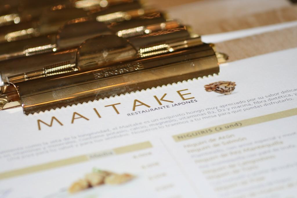 La propuesta de MAITAKE es dar toques mediterráneos a platos clásicos japoneses