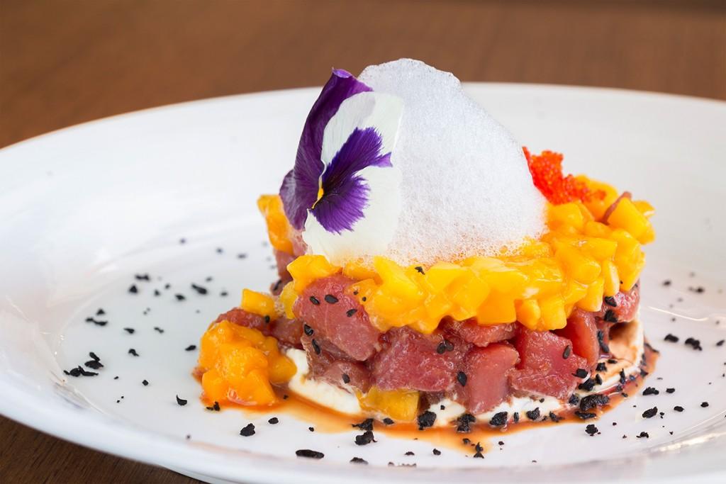 Restaurante Pelicano Madrid_TARTAR DE ATUN