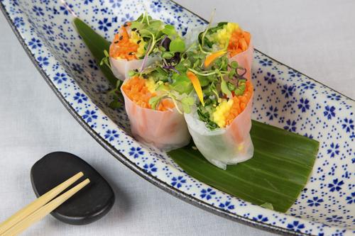 Rollitos vietnamitas vegetariano, El Flaco