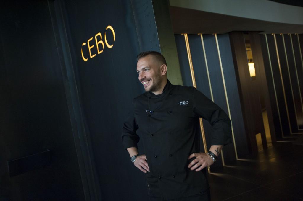 Aurelio Morales. Chef del restaurante CEBO Madrid