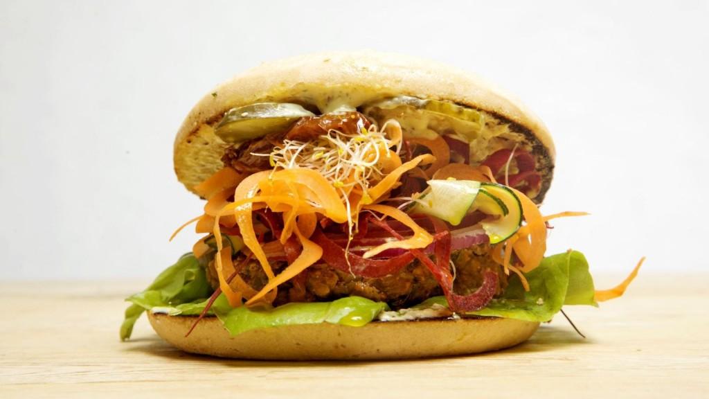 Hamburguesa veggie de Viva Burger
